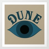 dune Art Prints featuring Dune by ephemerality