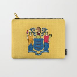 New Jersey State Flag Carry-All Pouch