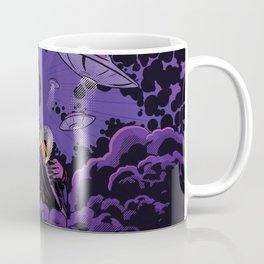 Jimi Hendrix Ufo smoke Coffee Mug