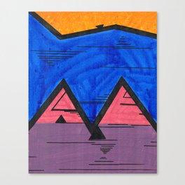 Nonconforming Triangular Hi-Five Canvas Print
