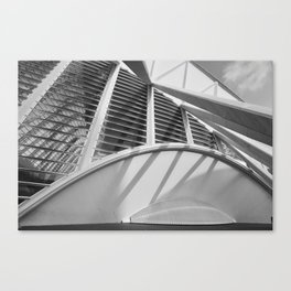 City of Arts and Sciences II | C A L A T R A V A | architect | Canvas Print