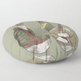 Hunting Ducks Floor Pillow