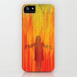 hephaestus in her hands iPhone Case