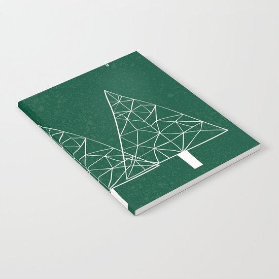 Merry Christmas Green Notebook