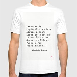Vladimir Lenin quote T-shirt