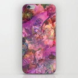 Unfolding Flowers iPhone Skin