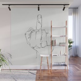 THINGS COLLECTION | MIDDLE FINGER Wall Mural