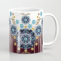 folk Mugs featuring Folk Festival by Vikki Salmela