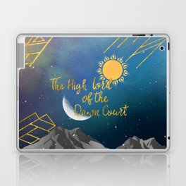 The High Lord of the Dawn Court Laptop & iPad Skin