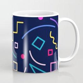Memphis Pattern Colourful Coffee Mug