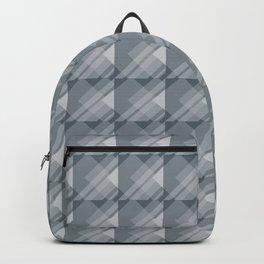 Modern Geometric Pattern 7 in Peninsula Blue Backpack