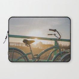 Bike & Beach in Sunny Manhattan Beach, California Laptop Sleeve