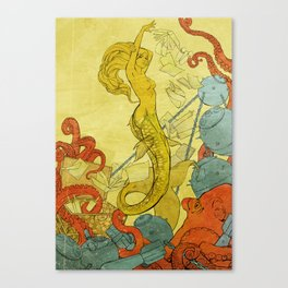 Sea Witch Canvas Print