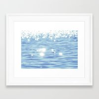 sparkles Framed Art Prints featuring Sparkles by Shy Photog