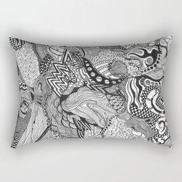 the ashya'a pattern 2 Rectangular Pillow