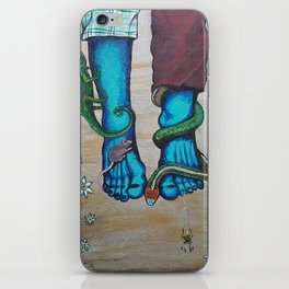 Dipping my Feet in Part 2 iPhone Skin