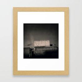 Hotel Cabrillo Framed Art Print