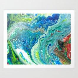 Mixed Ocean Art Print