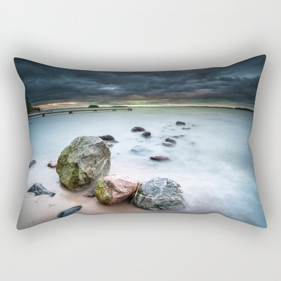 Dead on arrival Rectangular Pillow