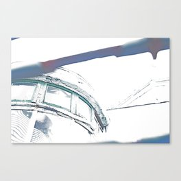 Sunlit Abandoned Canvas Print