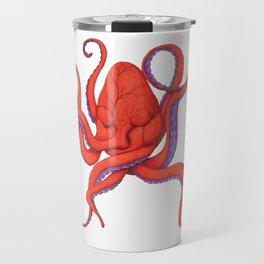 Follow Your Hearctopus Travel Mug
