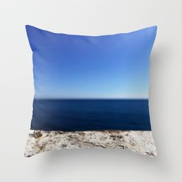 Blue Hues Throw Pillow