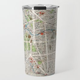 Vintage Map of Berlin Germany (1905) Travel Mug