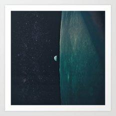Project Apollo - 8 Art Print