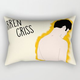 Darren Criss @ Beach Rectangular Pillow