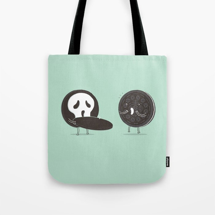 Cookies and Scream Tote Bag