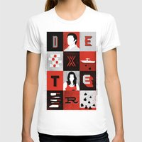 dexter T-shirts featuring Dexter by Bill Pyle