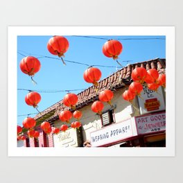 Raise the Red Lantern Art Print