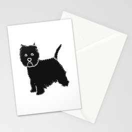 I have Connected the WESTIE Doggy Dots! Stationery Cards