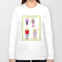 bikini Long Sleeve T-shirts featuring bikini babe! by gasponce