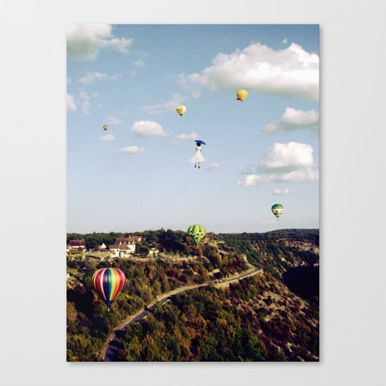 Believe in me Canvas Print