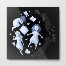 Moon Children Metal Print
