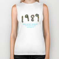 1989 Biker Tanks featuring 1989 Secret Sessions Anniversary by Alexander Studios
