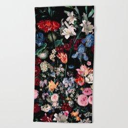 Midnight Garden XVII Beach Towel