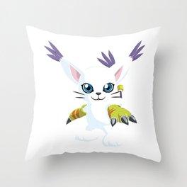 DIGIMON - Gatomon Throw Pillow