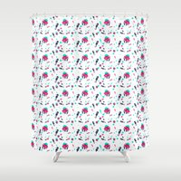 crab Shower Curtains featuring Crab by Ewelina Gaska