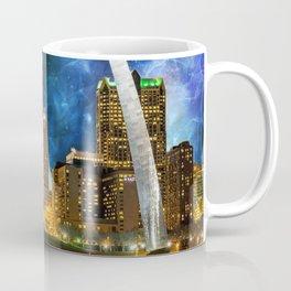 Spacey St. Louis Skyline Coffee Mug
