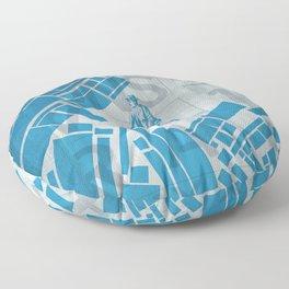BlueBike Floor Pillow