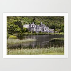 Kylemore Abbey Art Print