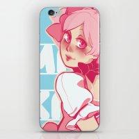 madoka iPhone & iPod Skins featuring Kaname Madoka by Hikkaphobia