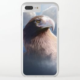 Wedge-tailed Eagle Clear iPhone Case
