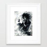 sandman Framed Art Prints featuring Sandman 2 by Roger Cruz