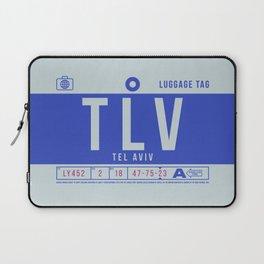 Luggage Tag B - TLV Tel Aviv Israel Laptop Sleeve