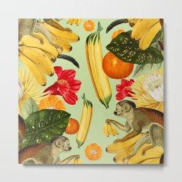 Banana Baby Metal Print