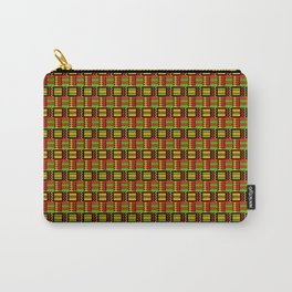 African Print Carry-All Pouch