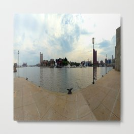 Baltimore Inner Harbor Metal Print